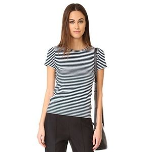 {Theory} Rodina 2 Tee in Everyday Striped Jersey